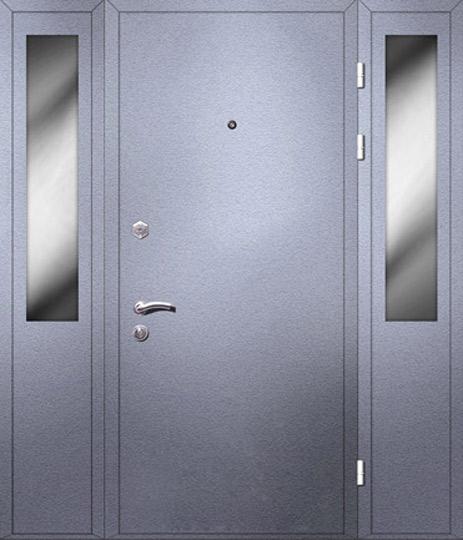 входные тамбурные двери металлические со стеклом